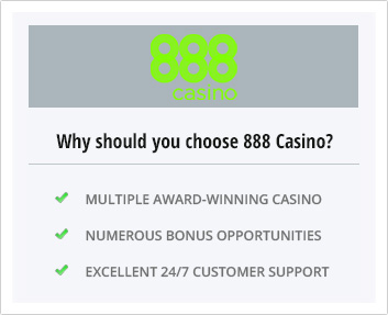 Why choose 888 casino