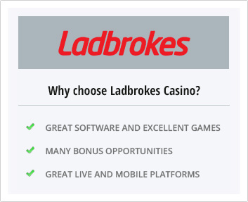The advantages of playing at Ladbrokes Casino