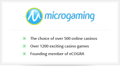 Microgaming is the first casino software developer