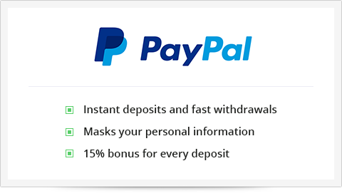 PayPal - a reliable option for making payments at an online casino