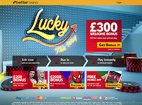 The welcome offers of Betfair Casino